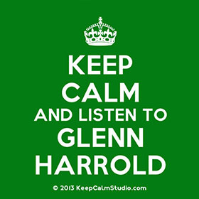 Keep Calm and Listen to Glenn Harrold