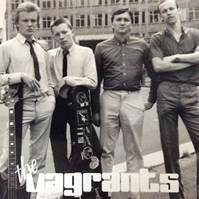 Glenn (far left) at 17 in his first band – The Vagrants.