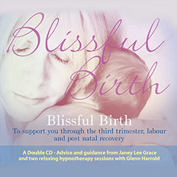 Blissful Birth Hypnosis CD/MP3 by Glenn Harrold & Janey                          Lee Grace