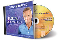 Exercise & Fitness Motivation Hypnosis MP3 & CD